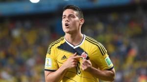 James Rodriguez, meilleur buteur de la coupe du monde