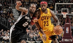 spurs vs Cavs