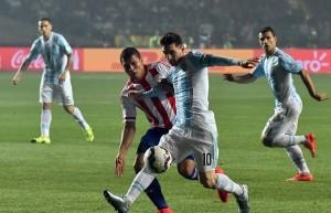 Messi argentine paraguay
