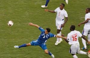 l'action ou l'arbitre a inventé le penalty pour le Salvador
