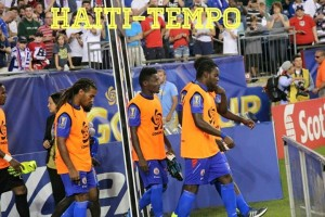 haiti bench gold cup