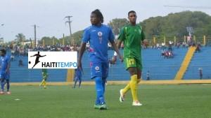 Benchy Estama (Haiti numero 7) avec les U-23