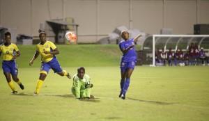 haiti filles u-17 vs barbade u-17 gol