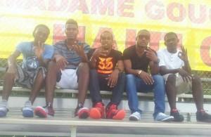 Les joueurs du Don Bosco