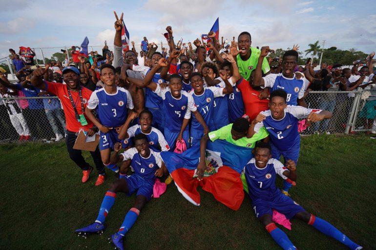 Concacaf U17 2019 Haiti Affrontera Le Mexique En Demi