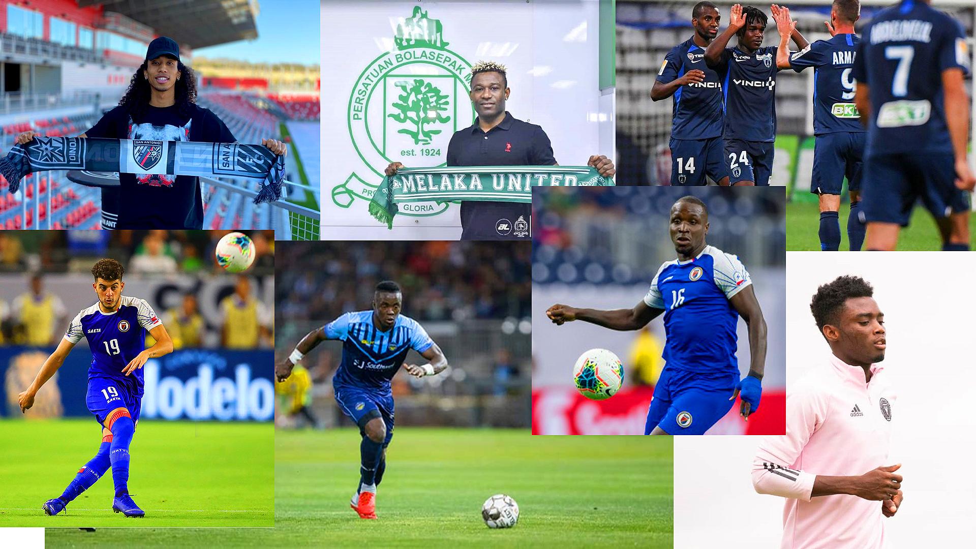 Foot- Transfert : Le tableau récapitulatif de tous les transferts des joueurs haïtiens ! - Haiti ...